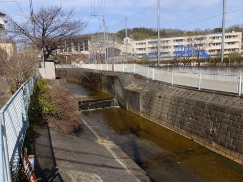 片平川の落差工