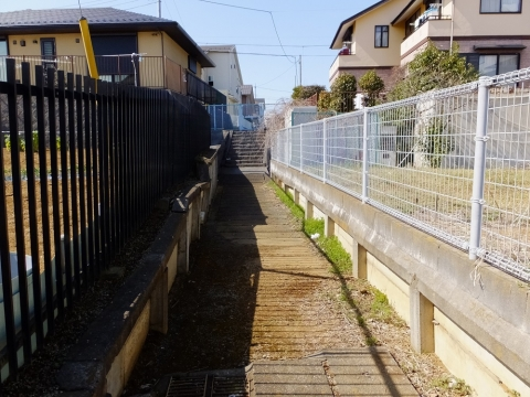 暗渠の片平川