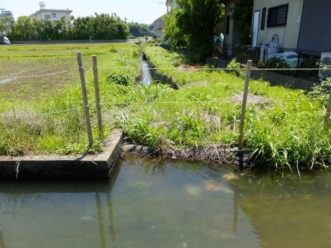 榎戸支線用水路・排水路立体交差