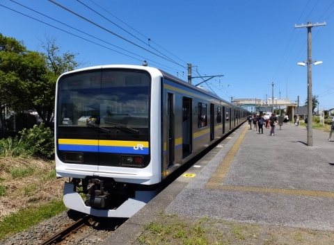 JR東金線求名駅