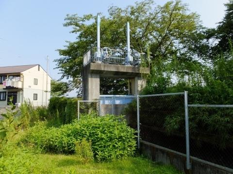 西部用水・小鮎川サイフォン吐口施設