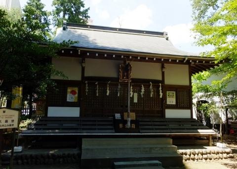 五ノ神社本殿