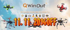 QWinOut 11.11 SALE