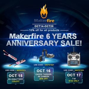 2019 Makerfire 6Y Anniversary SALE