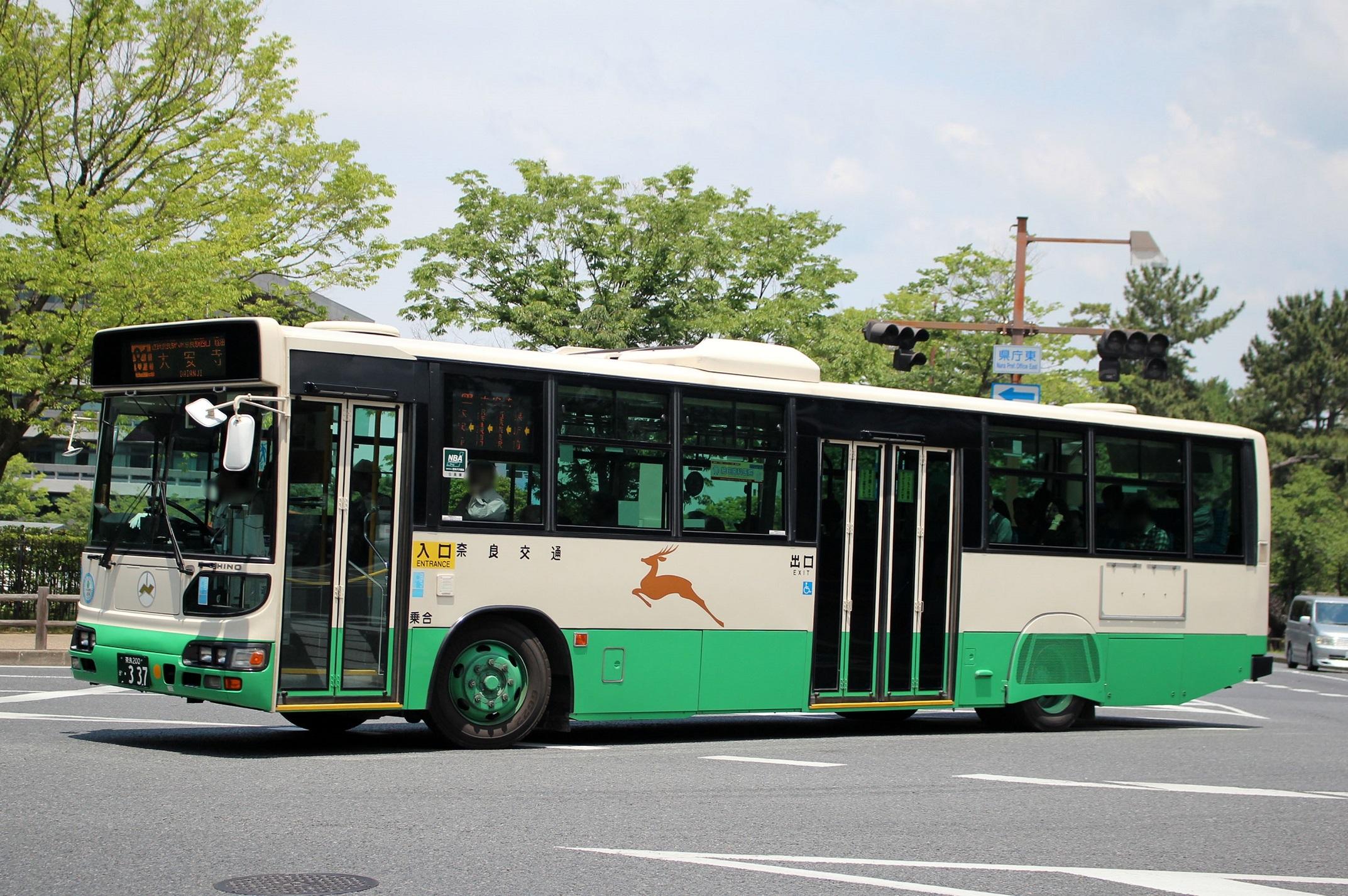 奈良交通 か337