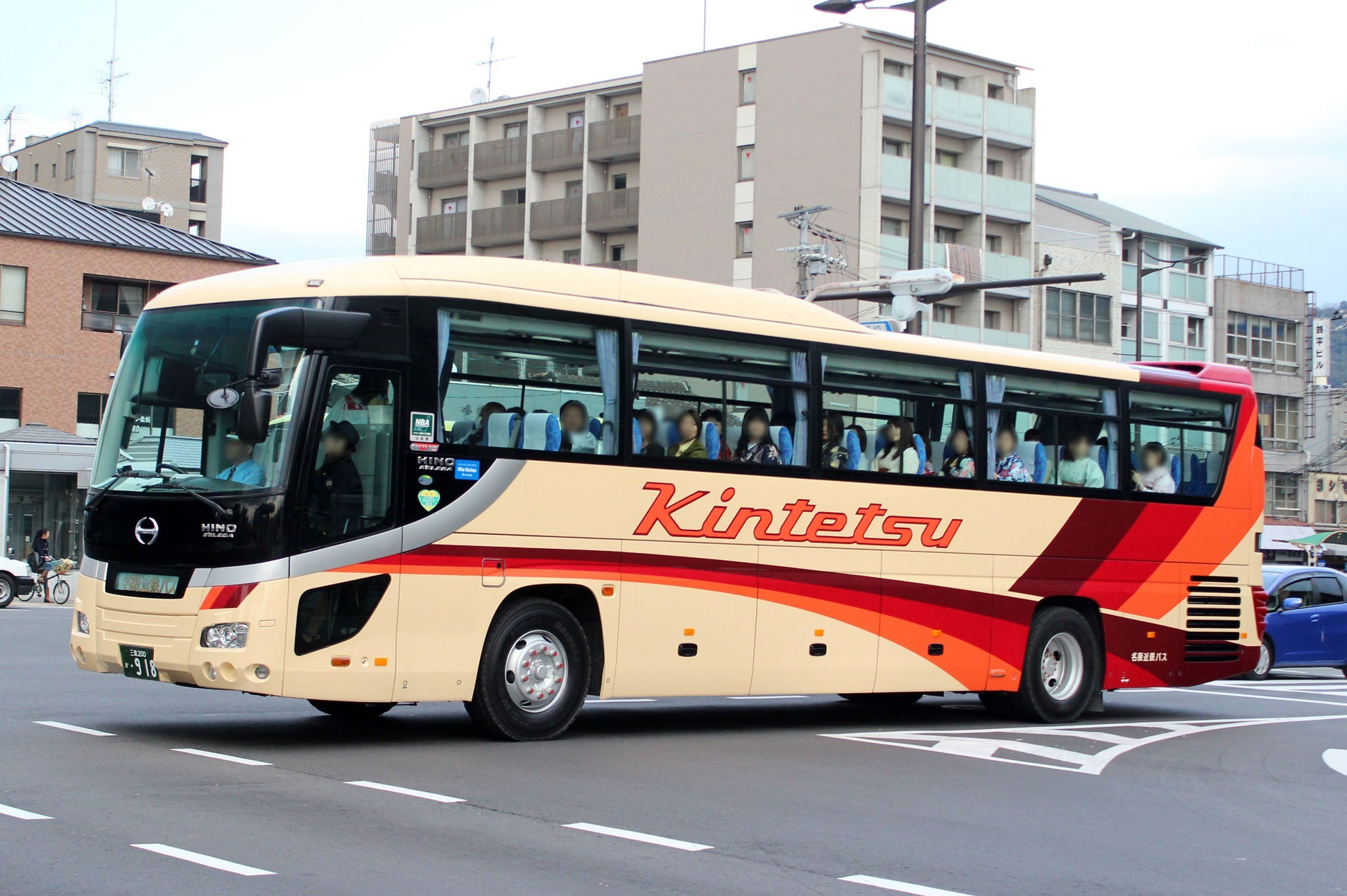 名阪近鉄バス か918