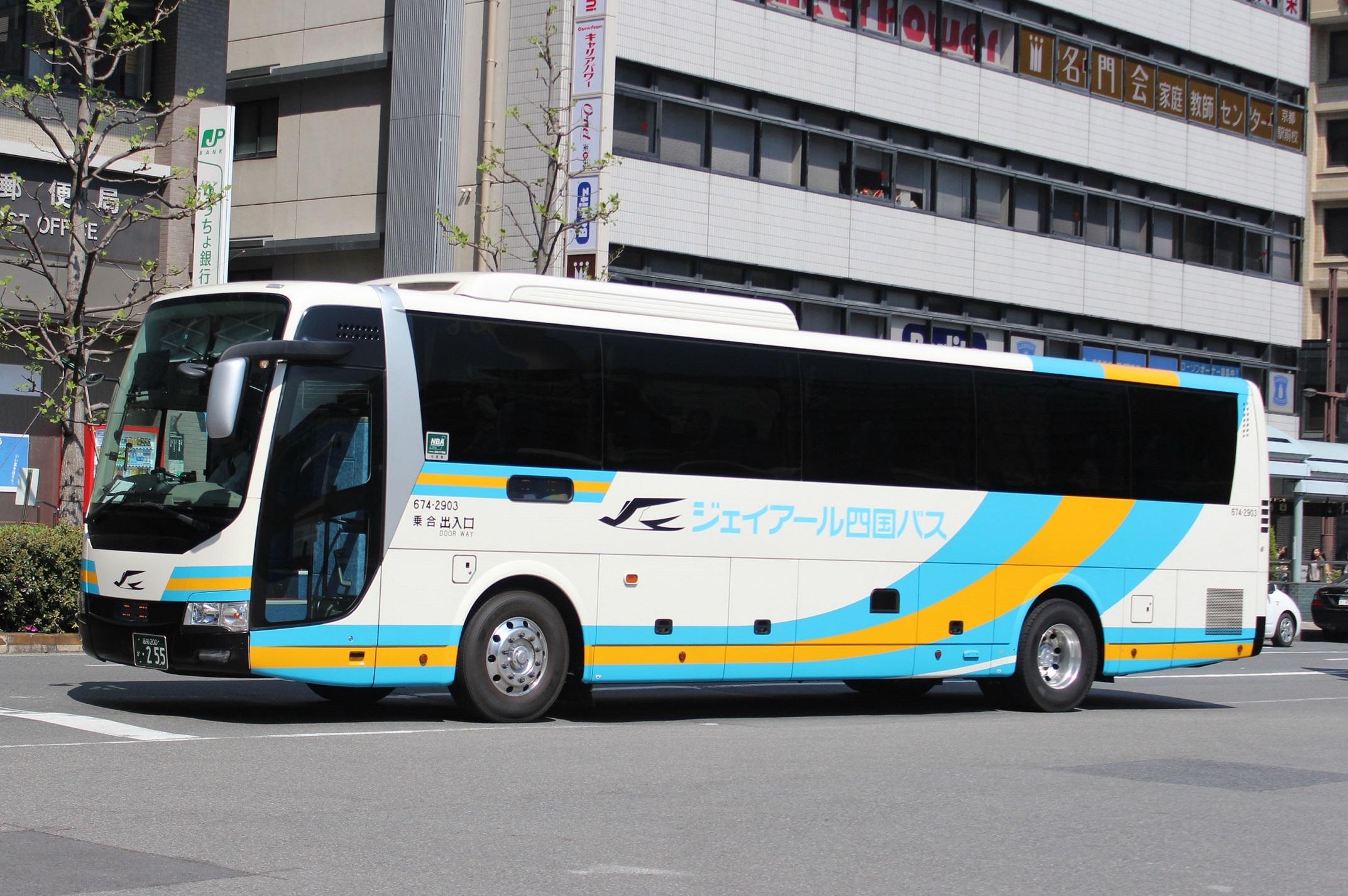 JR四国バス 674-2903