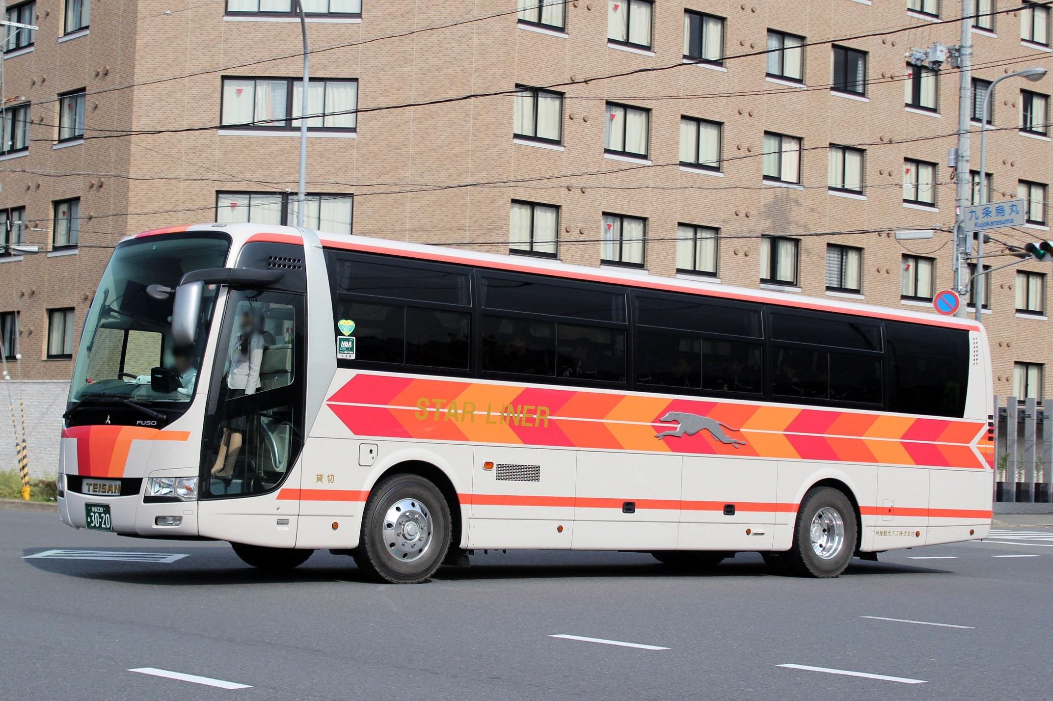帝産観光バス あ3020