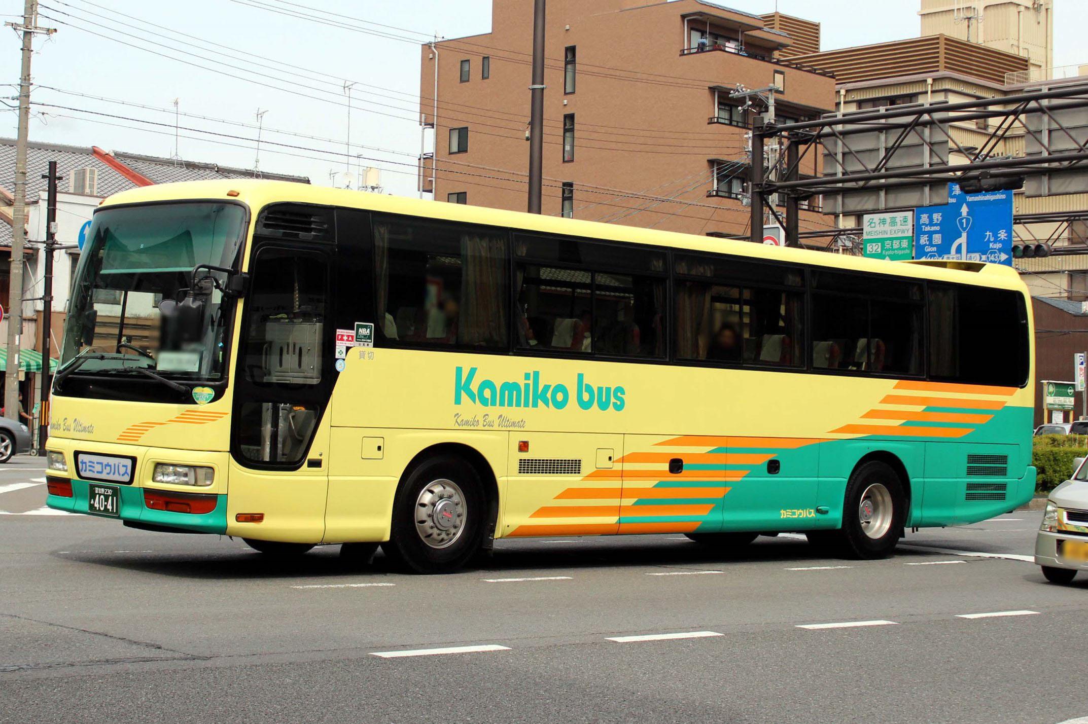 カミコウバス あ4041