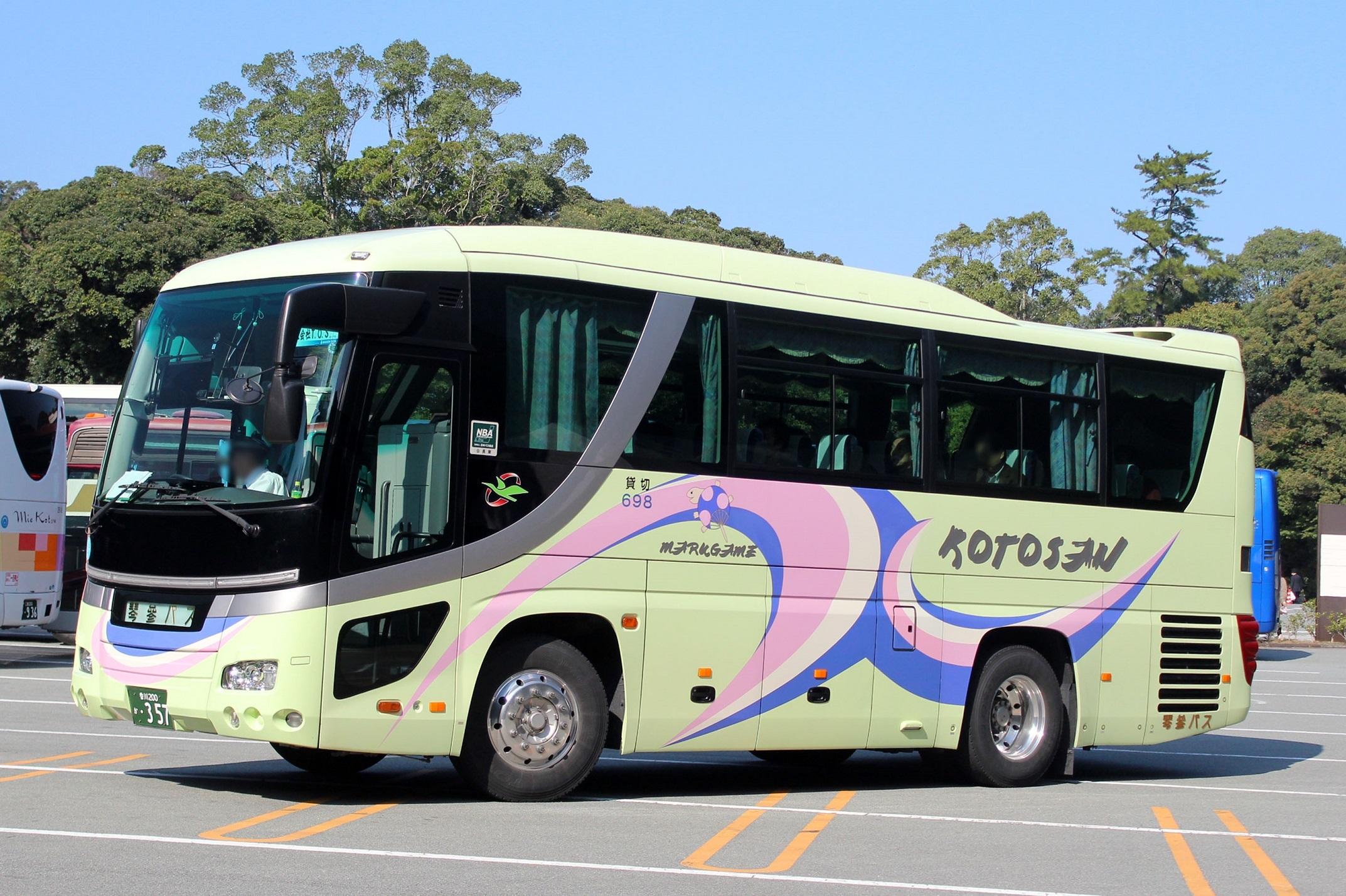 琴参バス 398