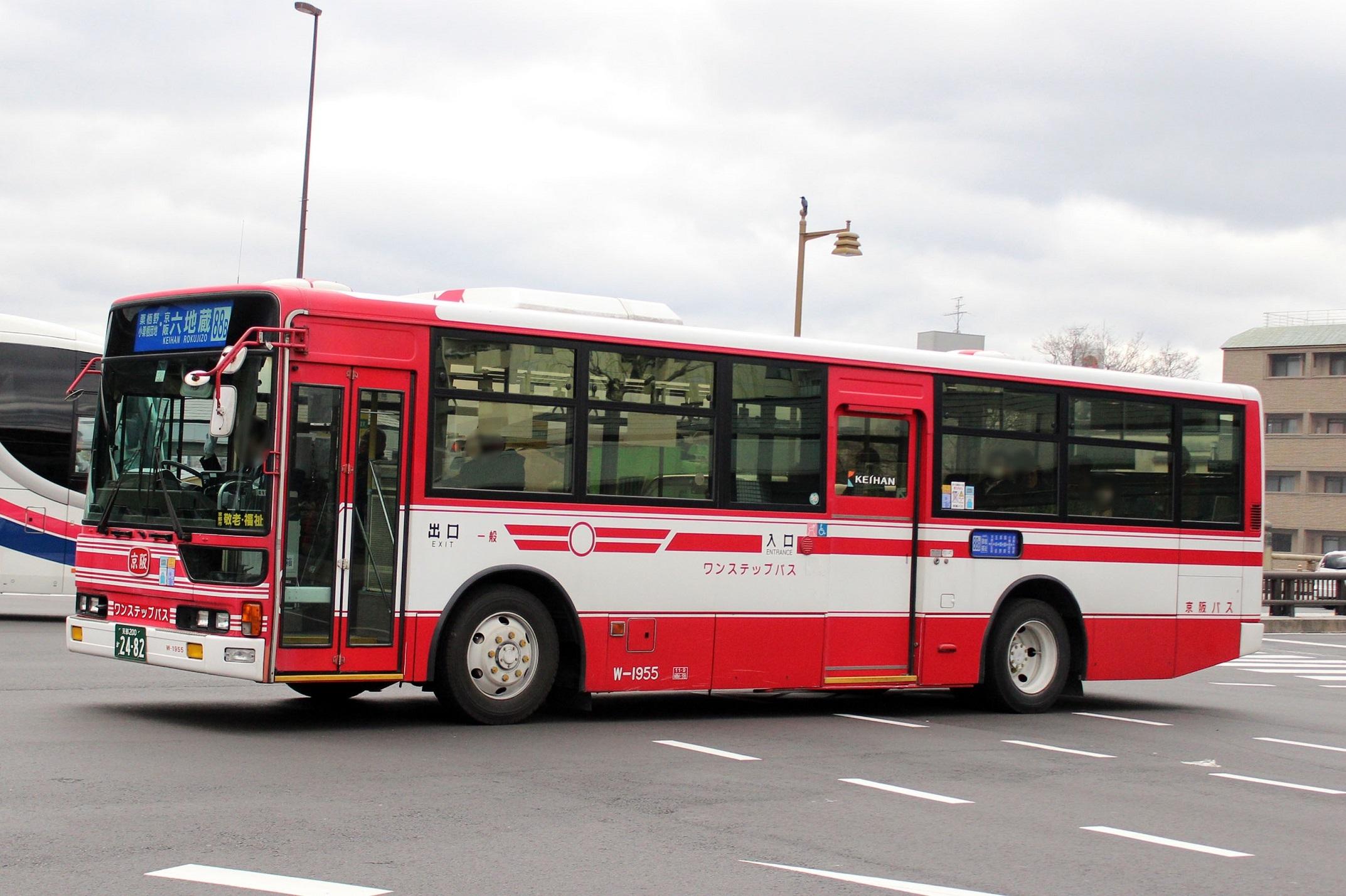 京阪バス W-1955