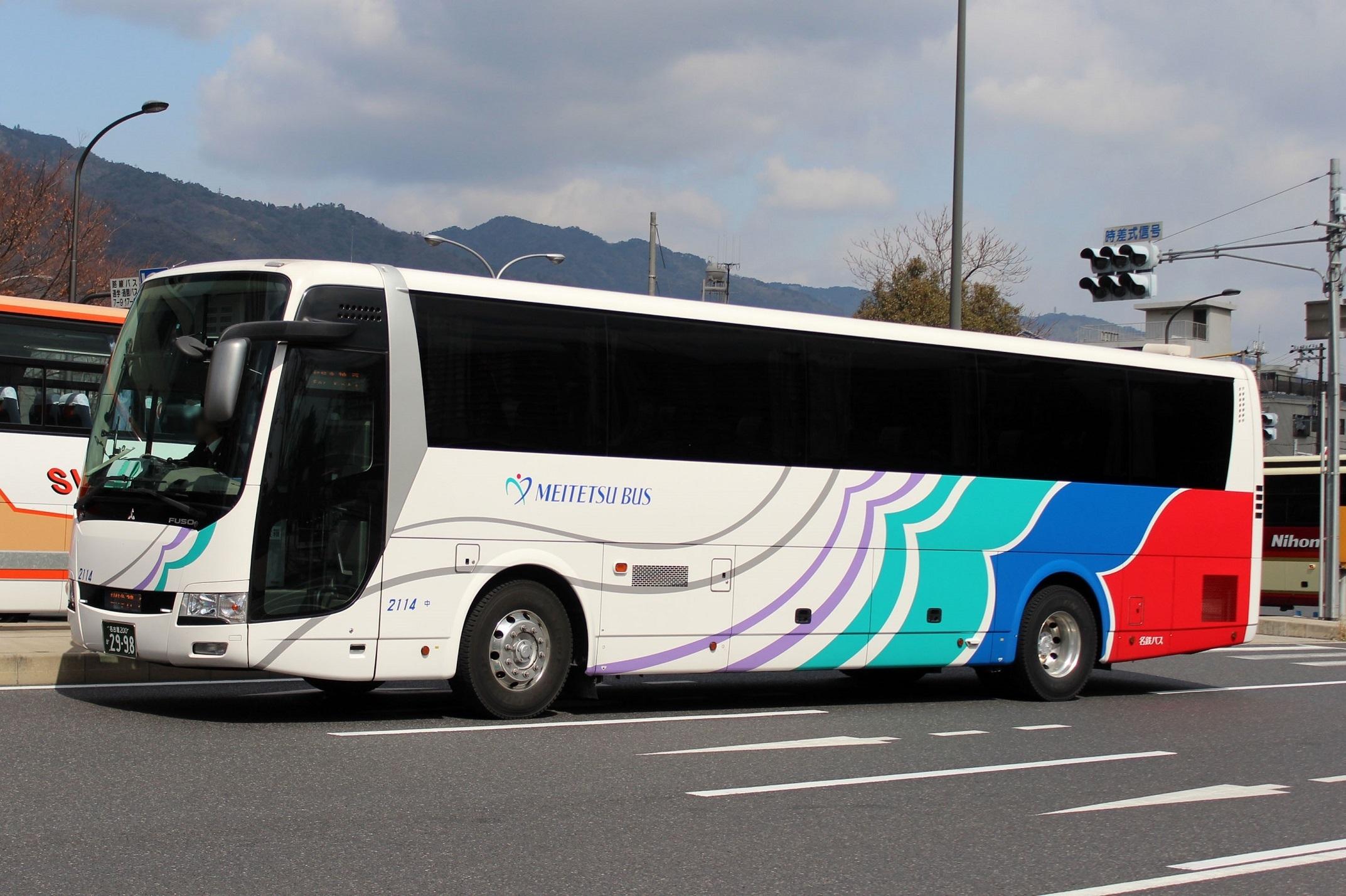 名鉄バス 2114