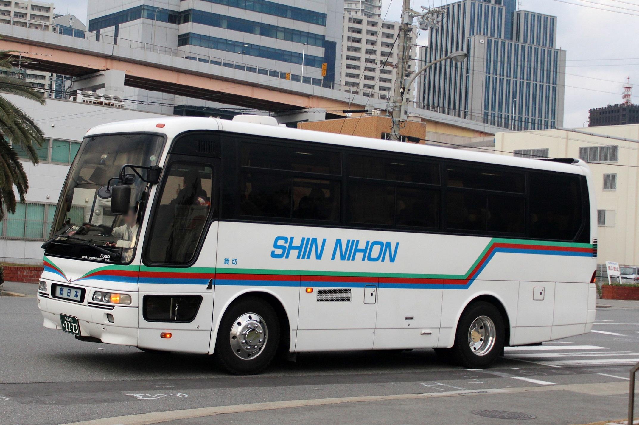 新日本観光バス あ2223