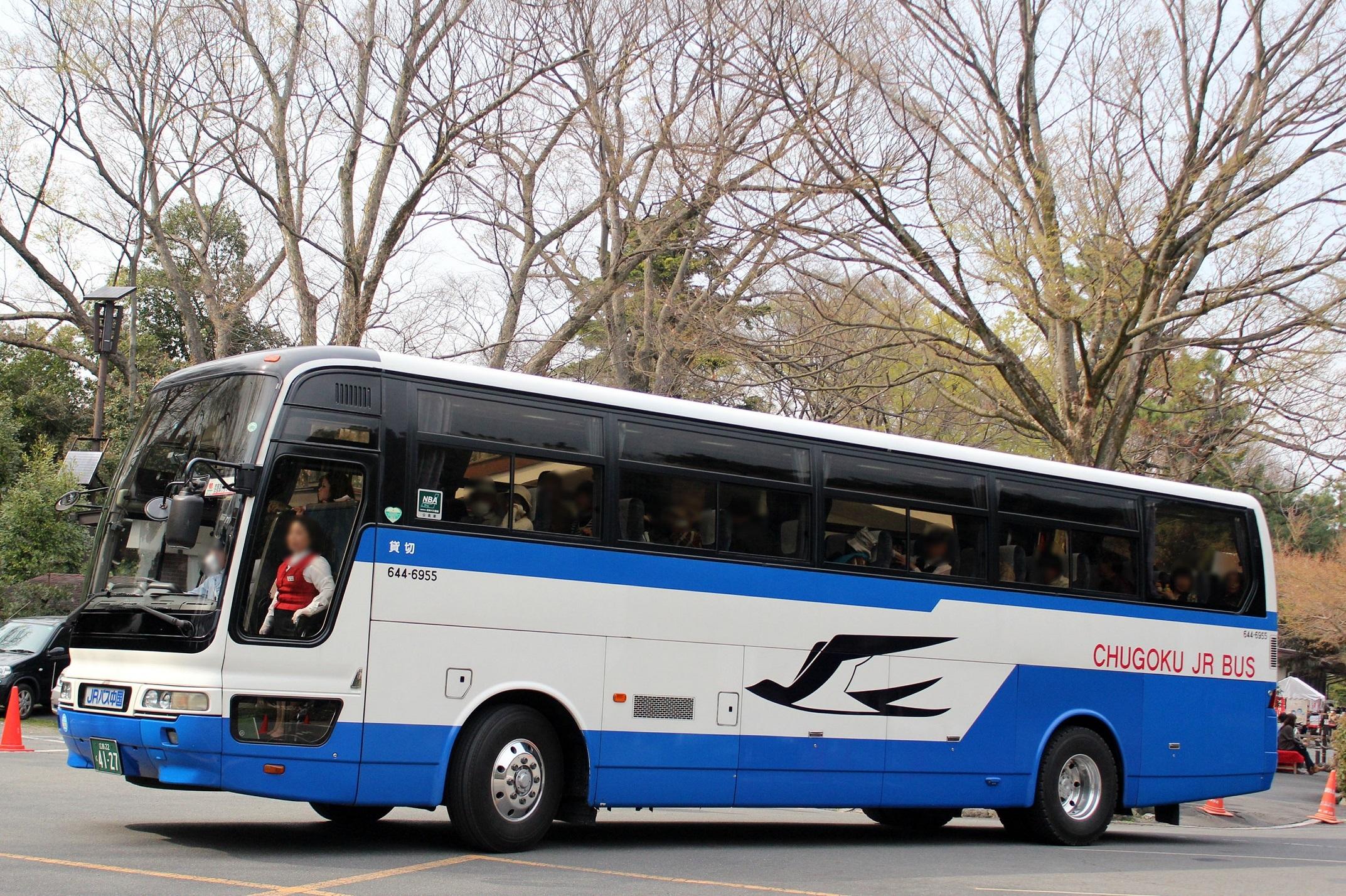 中国JRバス 644-6955