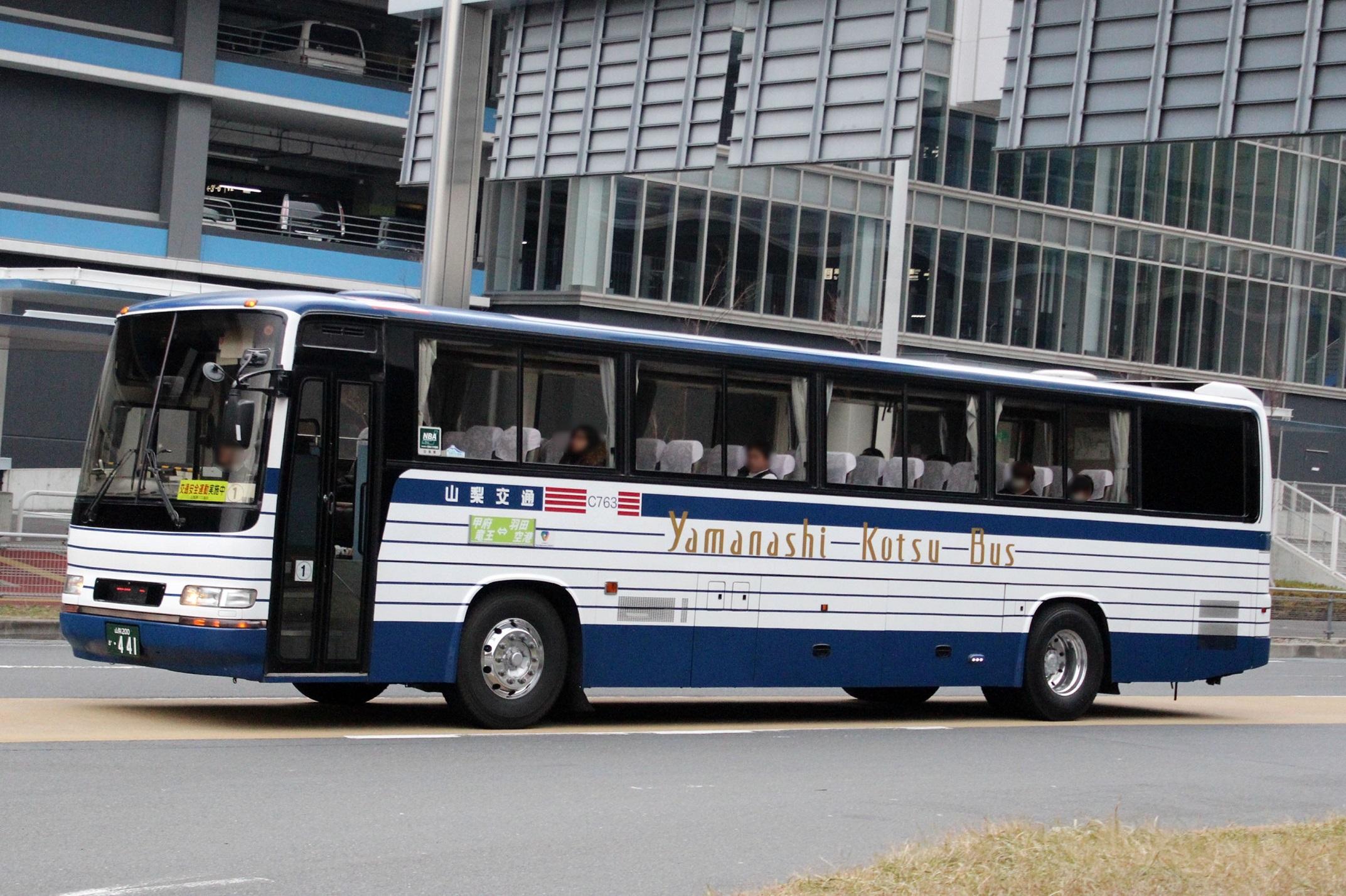 山梨交通 C763