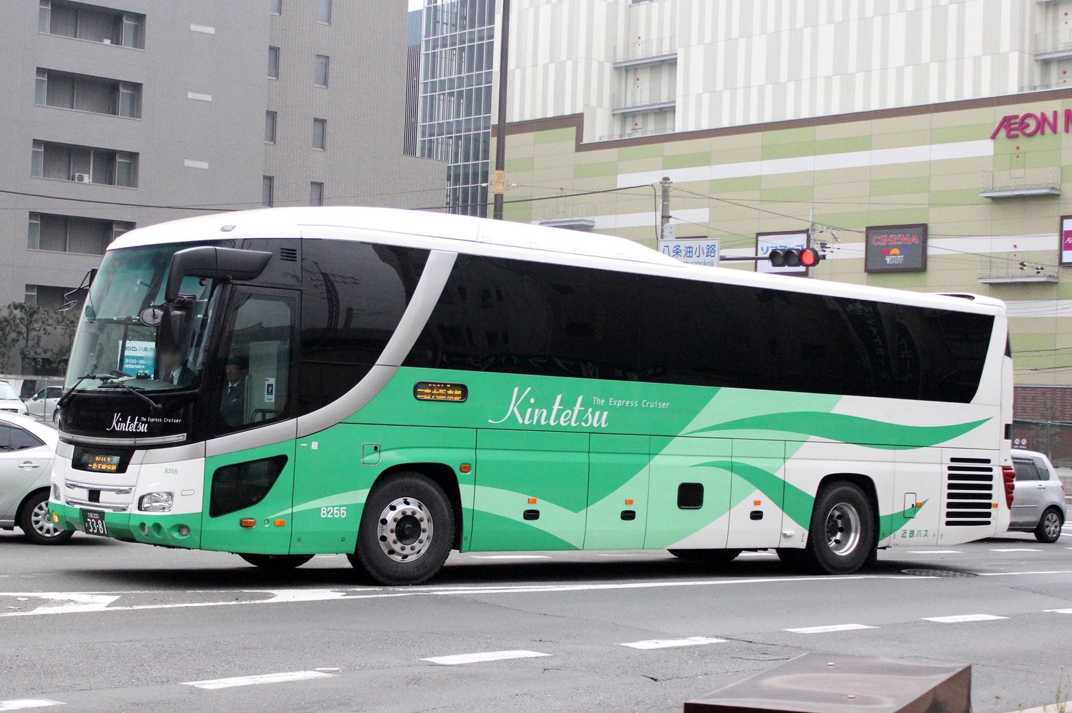 近鉄バス 8255