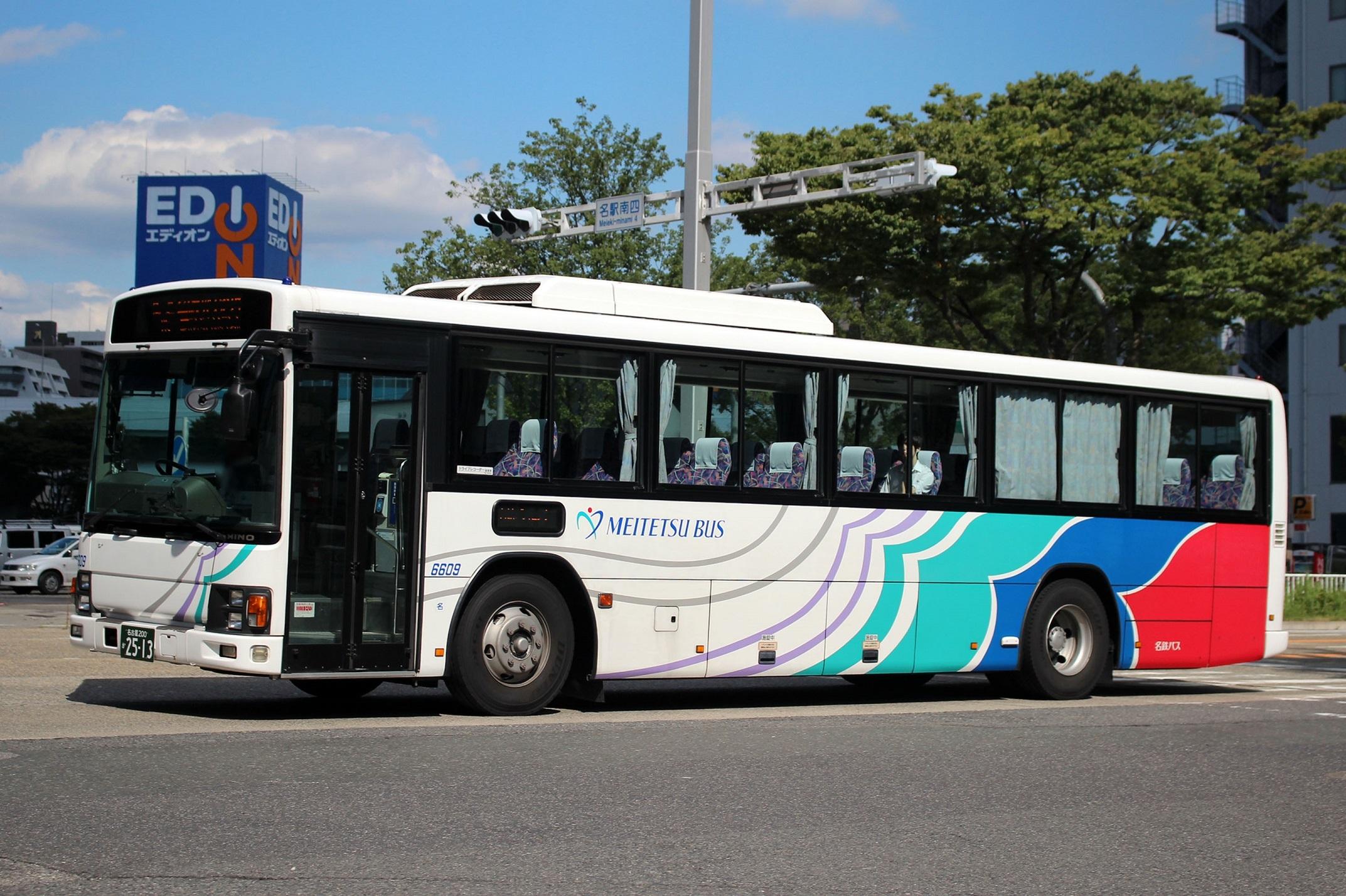 名鉄バス 6609