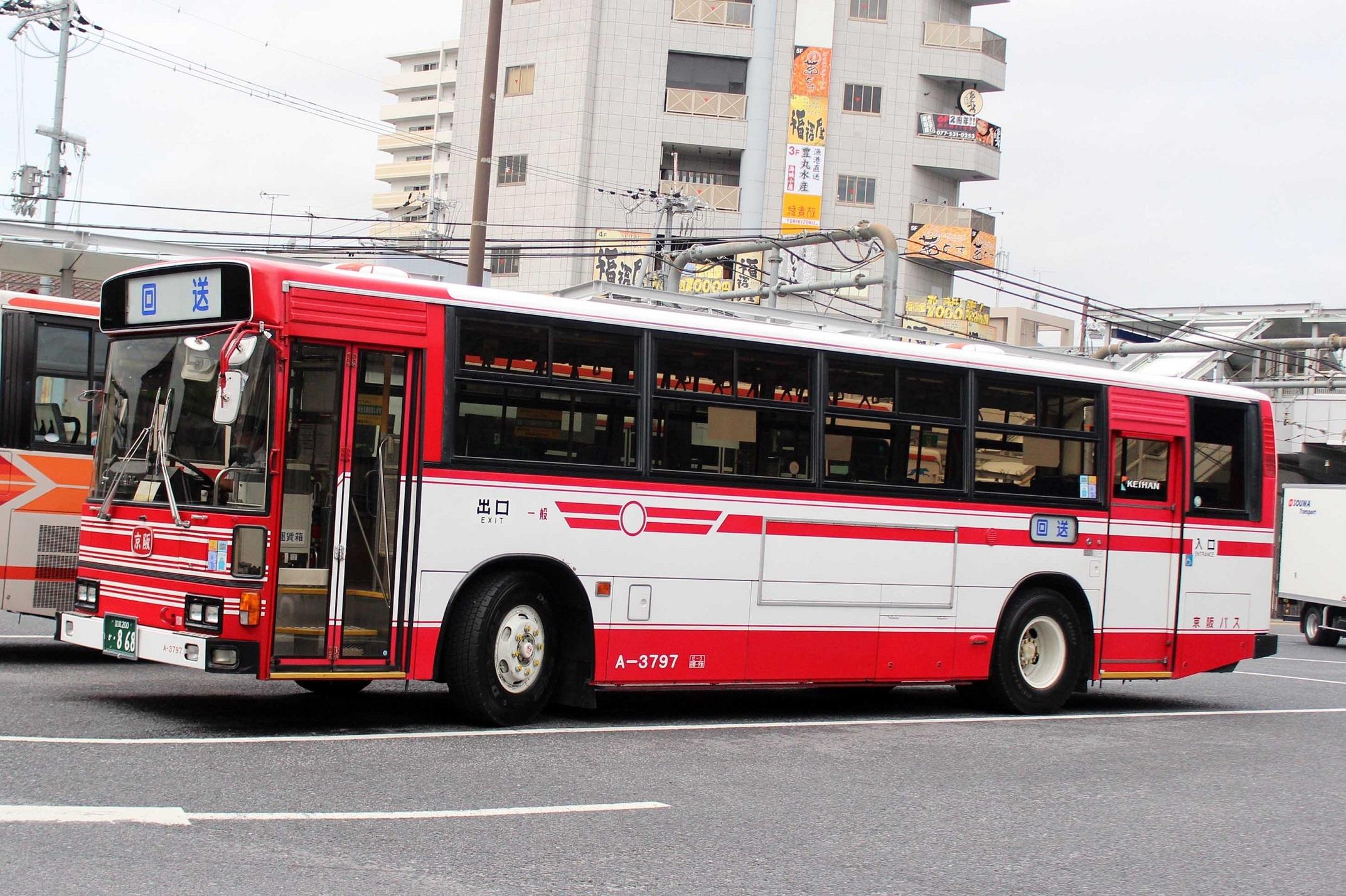 京阪バス A-3797