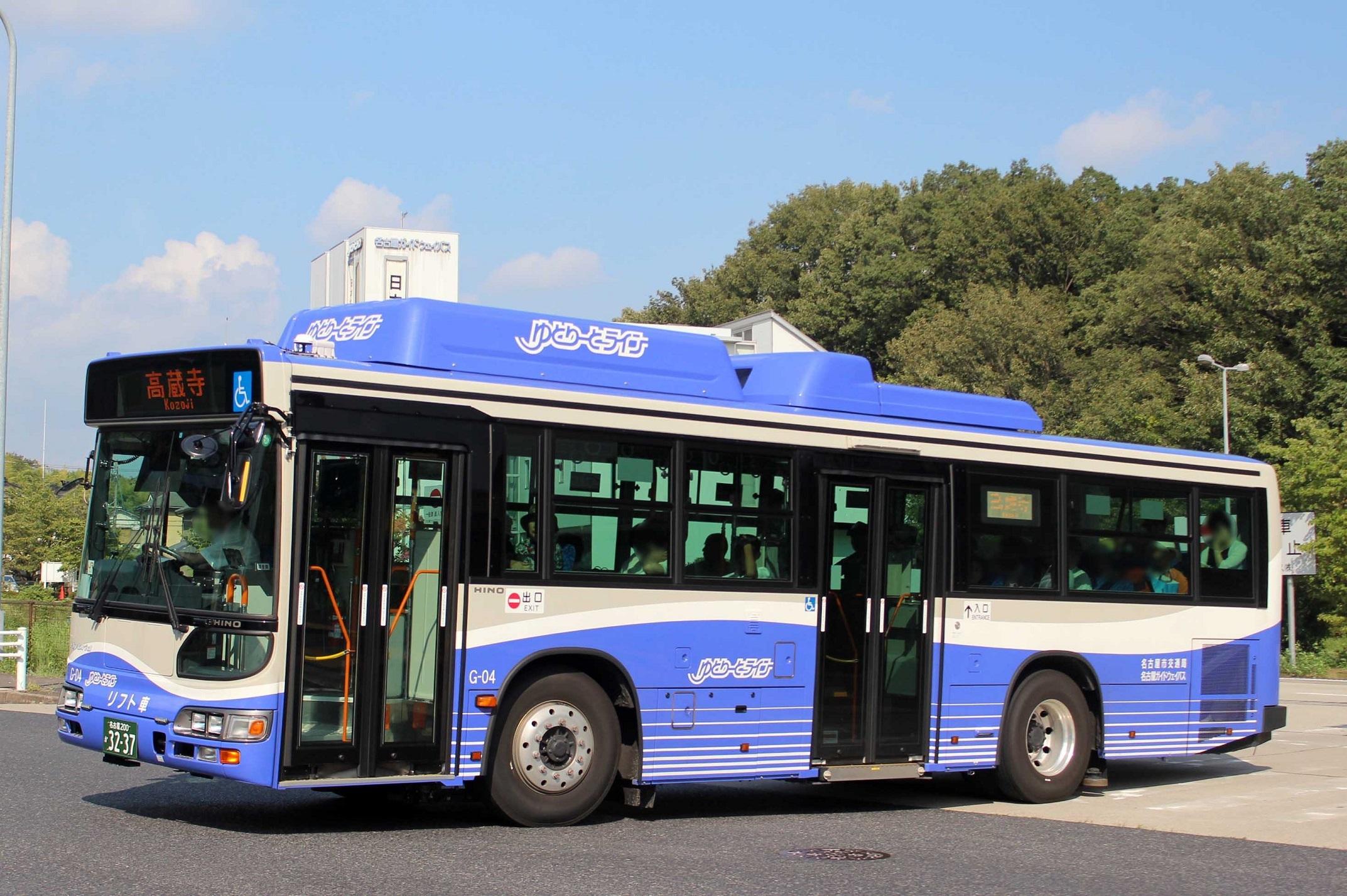 名古屋ガイドウェイバス G-04