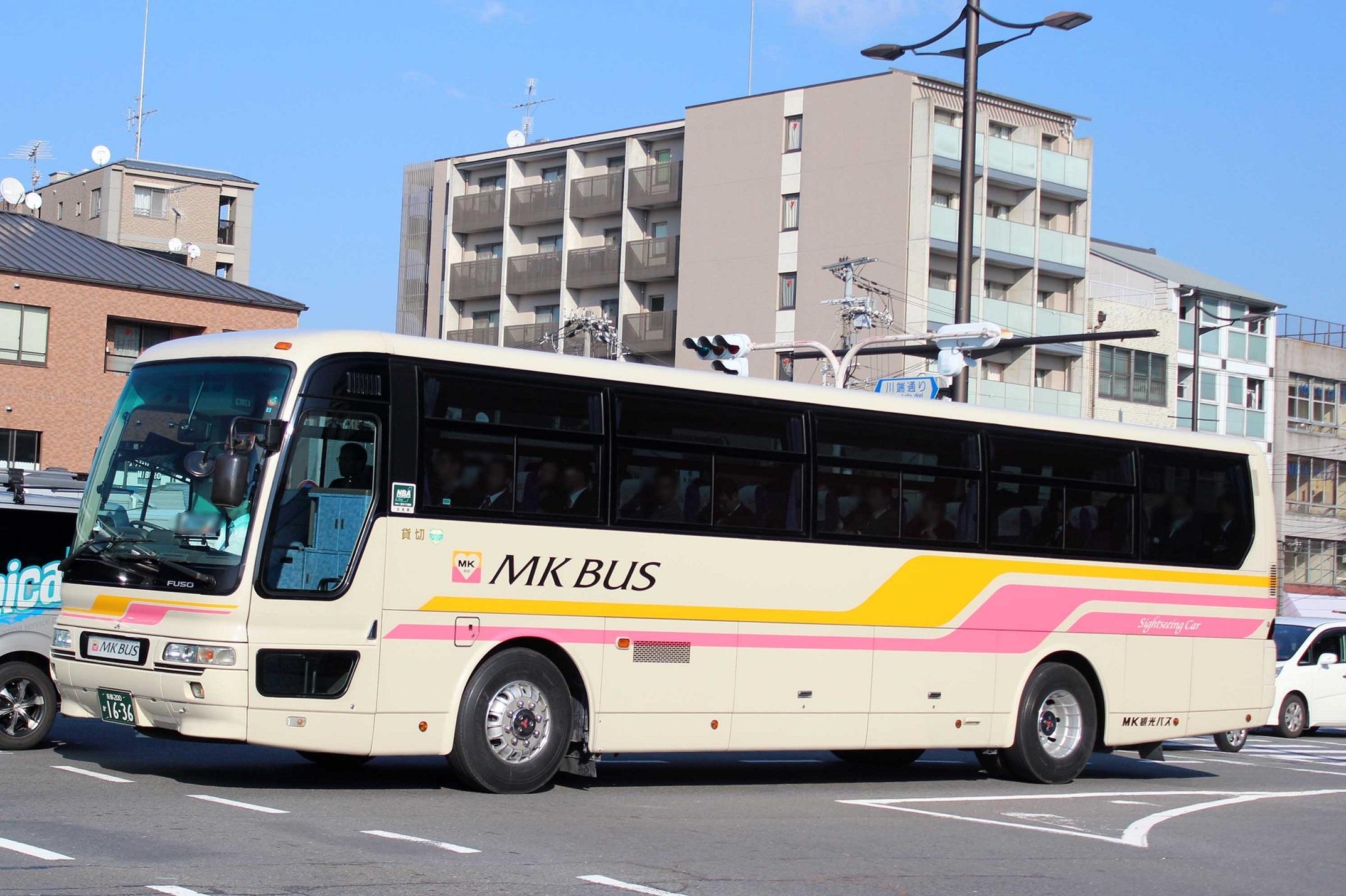 MK観光バス か1636