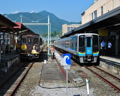 宇和島駅到着