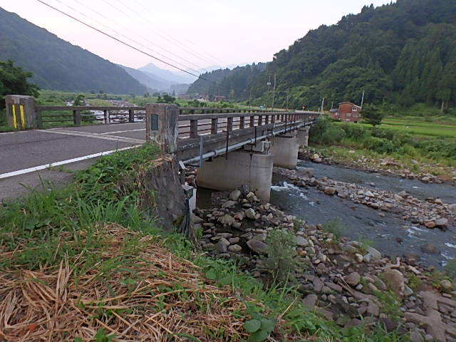 1年ぶりの能生カ川2