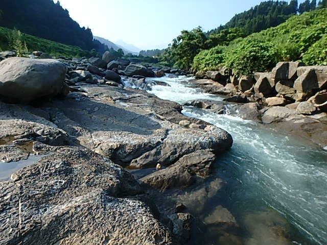 1年ぶりの能生カ川7