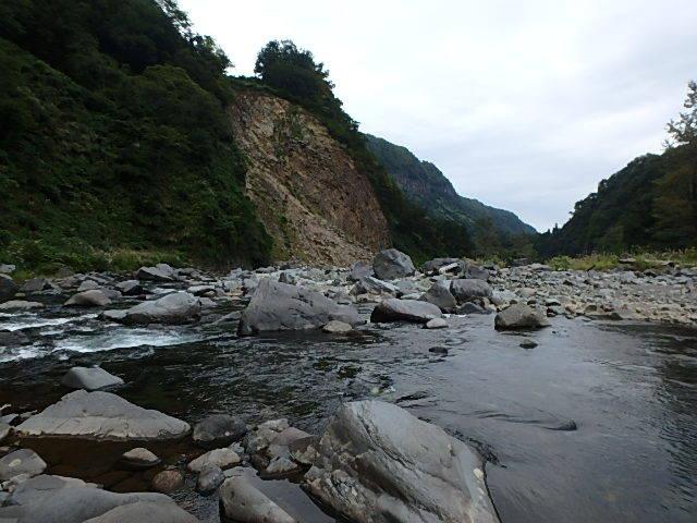 2019最後の渓流釣りは中津川6