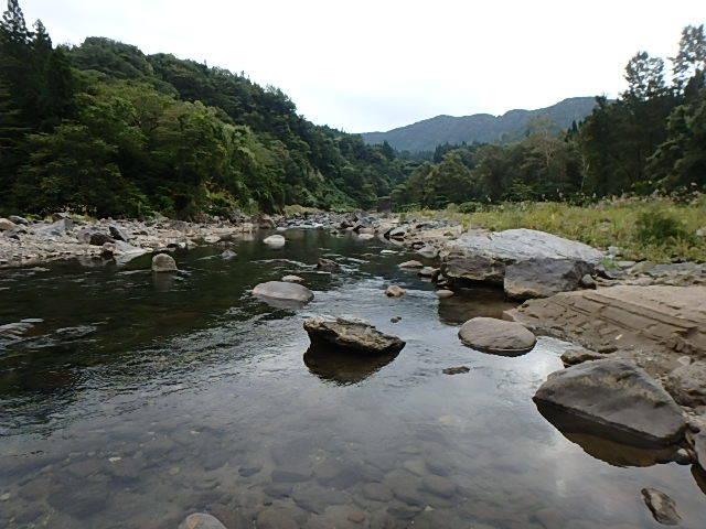 2019最後の渓流釣りは中津川7