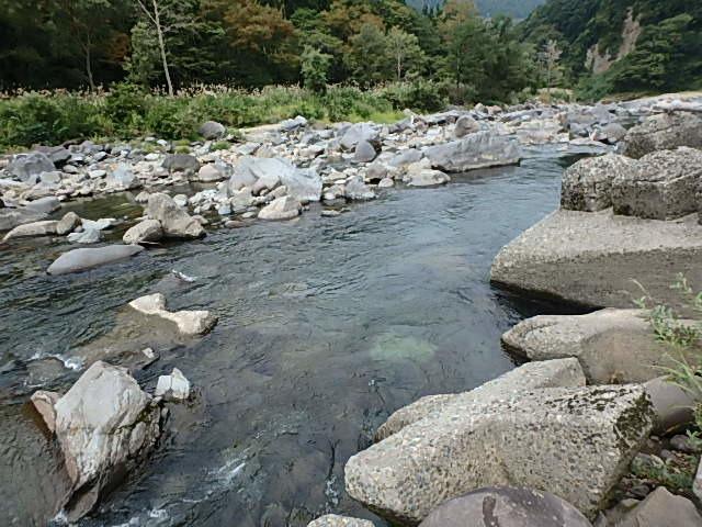 2019最後の渓流釣りは中津川9