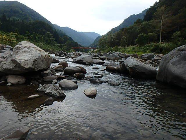 2019最後の渓流釣りは中津川14