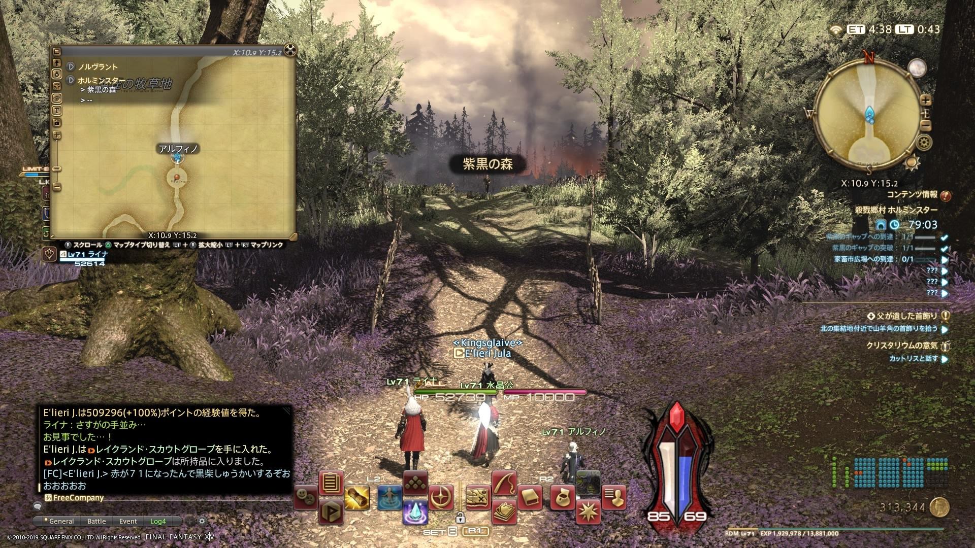 村3 紫黒の森