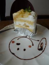 桃のケーキ2