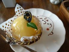 桃のケーキ1