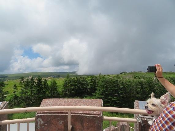 7C20 ガス(地上では霧)雲の境目 0809