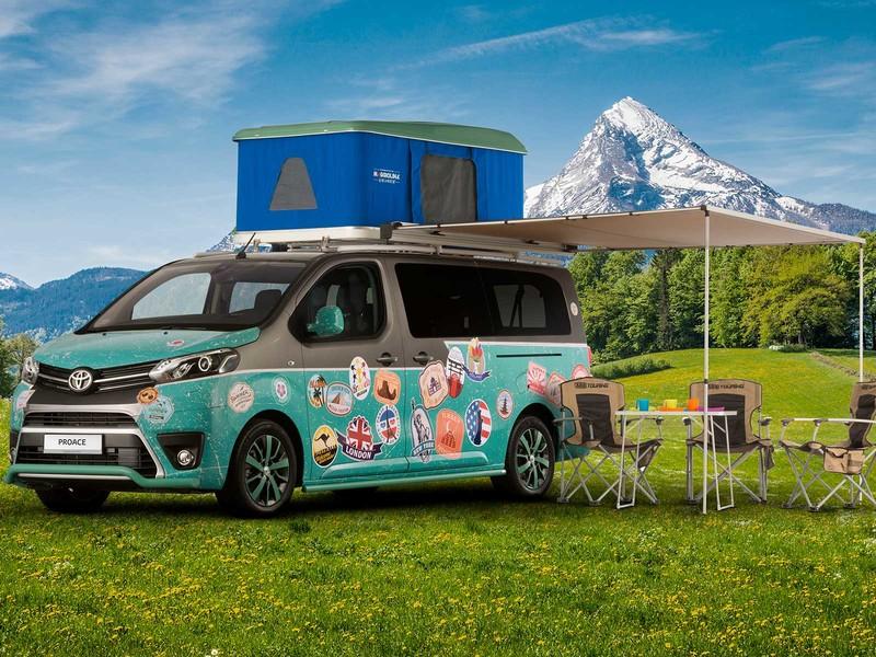 Kempingowa Toyota PROACE Camper gotowa na wyprawy2