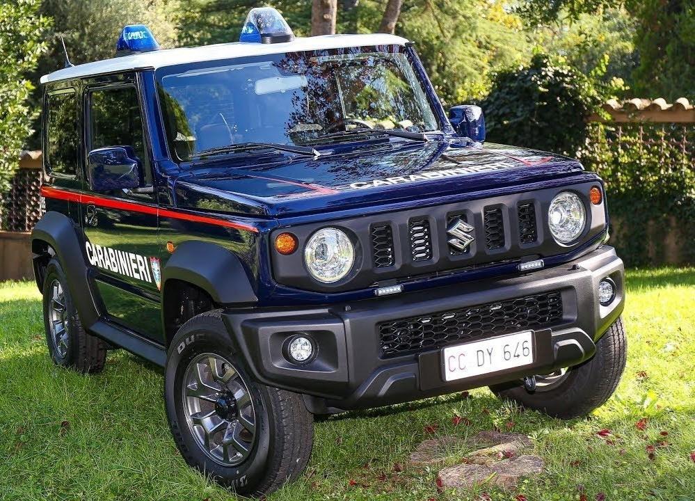 suzuki jimny italian police
