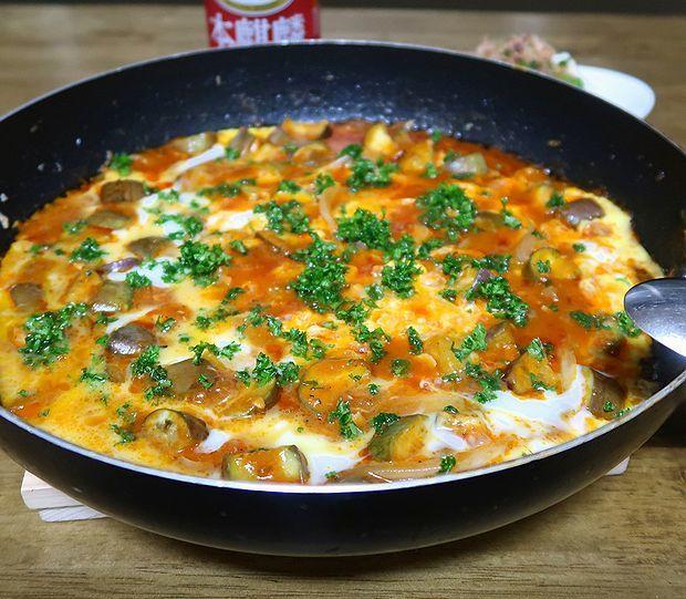 イタリアン卵とじ①