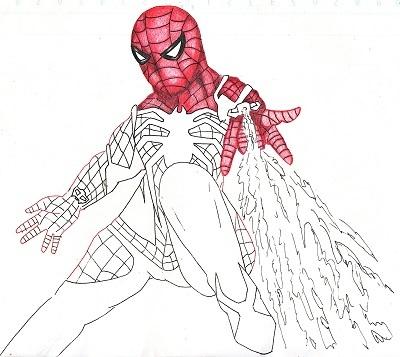 スパイダーマン 今日ものんびりと 2019/09/17