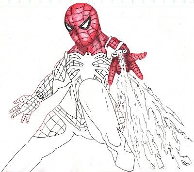 スパイダーマン 今日ものんびりと 2019/09/18