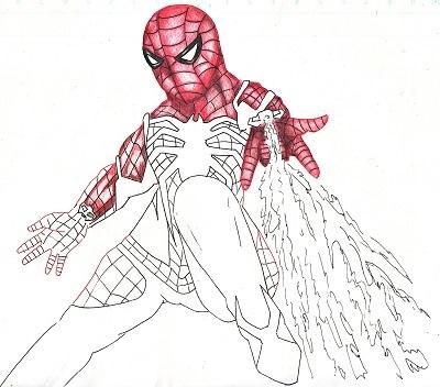 スパイダーマン 今日ものんびりと 2019/09/20