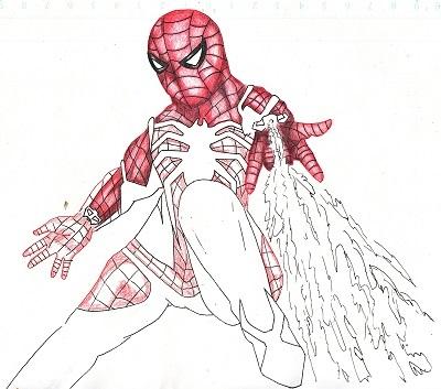 スパイダーマン 今日ものんびりと 2019/09/21