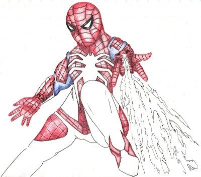 スパイダーマン 今日ものんびりと 2019/09/25