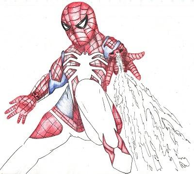 スパイダーマン 今日ものんびりと 2019/09/26