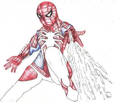スパイダーマン 今日ものんびりと 2019/09/27