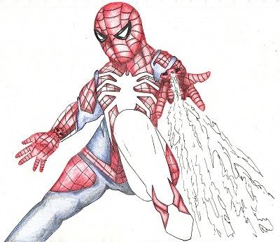 スパイダーマン 今日ものんびりと 2019/09/28