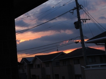 夕焼け空 2019-07-31 007