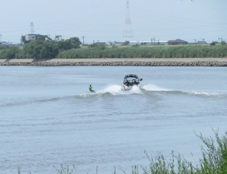 水上スキー筑後川 2019-08-10 009