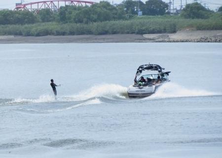 水上スキー筑後川 2019-08-10 040