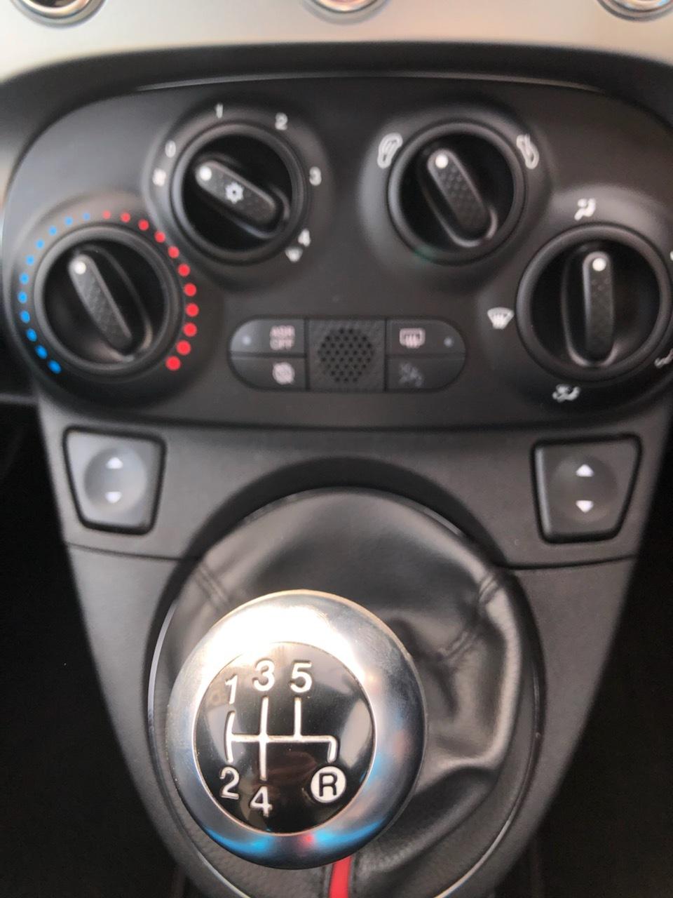 FIAT500S シフト